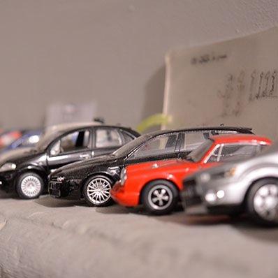 Décoration petite voitures